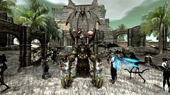 👹 Sanctuary Wars (G. Inc.) Tags: secondlife sanctuary 3d sl world virtual