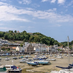 The picturesque harbour at St Aubin in Jersey. thumbnail
