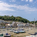 The picturesque harbour at St Aubin in Jersey.