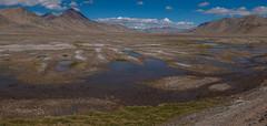 Entre Karakul et Murgab, Pamirs, Tadjikistan (Pascale Jaquet & Olivier Noaillon) Tags: montagnes lac paysage panorama4 nuages ciel neige sel entrekarakuletmurgab gornobadakshan tadjikistan tjk