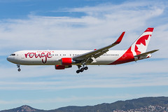 C-FIYE, Boeing 767-33A(ER) Air Canada Rouge @ Barcelona El Prat BCN (LaKi-photography) Tags: flugzeug plane avion aircraft jet flughafen flugplatz airport aeroporto aeropuerto aerolínea airline airliner fluggesellschaft エアライン авиакомпания самолет аэропорт 航空機 空港 luftfahrt aviation aviación transport traffic verkehr verkehrsflugzeug boeing boeing767 spanien españa spain barcelona elprat bcn cataluña aircanada