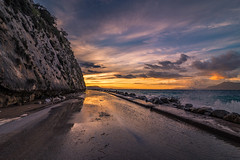Driving to sunset (Vagelis Pikoulas) Tags: sun sunset tokina sky skyscape clouds cloudy cloud cloudscape street road travel canon 6d