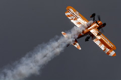 DSC_9640 copy (quintinsmith_ip) Tags: aerosuperbatics flyingcircus 'superstearmans stearmans plane formation flight smoke smoking orange white wingwalkers sunderland 2018