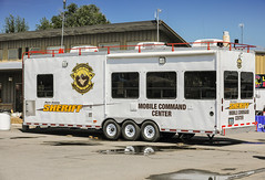 Sheriff's Command Trailer (wyojones) Tags: wyoming parkcounty parkcountyfair parkcountysheriff trailer mobilecommandcenter police lawenforcement lawman law wyojones