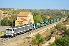 Manganeso con Tandem (fiskia) Tags: renfe 289 lafloresta manganeso tolvas tts 289107 mercante mercancias train railway ferrocarril