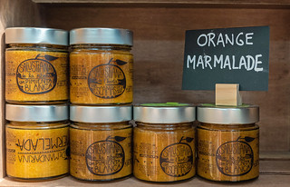 Orange Marmalade For Sale - The Mercado Central in Valencia (Panasonic Lumix LX100 Compact) (1 of 1)