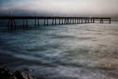 Pacifica pier (kdepadua86) Tags: 24mmlens t2i canon longexposure ocean bayarea california water pier pacifica
