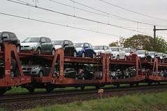 25 80 4293 463-2 - atg - hegelsom - 11512 (.Nivek.) Tags: uic type l goederen wagen goederenwagen goederenwagens wagens gutenwagen guten auto trein autotrein