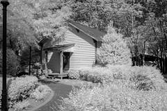 Heritage Park Museum House (Neal3K) Tags: henrycountyga georgia heritagepark mcdonoughga ir infraredcamera kolarivisionmodifiedcamera