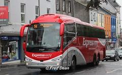 Bus Eireann SE56 (161D16182). (Fred Dean Jnr) Tags: august2018 galway eyresquaregalway buseireann scania irizar expressway buseireannroute51 se56 161d16182