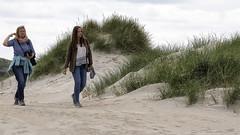 Walking in the sand dunes (Frank Fullard) Tags: frankfullard fullard candid street portrait seaside strand beach sand dunes sanddunes louisburgh killadoon mayo irish ireland