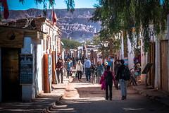 Streets of San Pedro de Atacama (holecem) Tags: street tourism sanpedrodeatacama atacama desert town chile