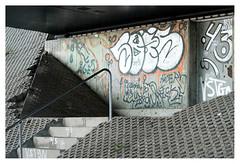 Under the bridge (leo.roos) Tags: graffiti grafitti wallart streetart graphiti graphitti stairs stairway staircase brug farøbridge southbridge farøbroerne denmark denemarken swedenspring2018 sony9028 sonyfe9028macro sel90m28g sonyfe90mmf28macrogoss a7rii darosa leoroos