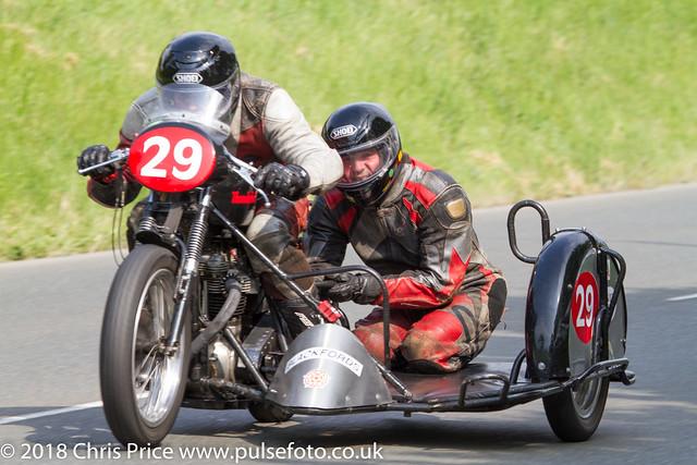 Pre TT Classic Billown 2018 Sidecar Heat 2