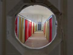 Peephole (Anita van Rennes) Tags: monastery shower room peephole