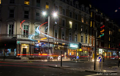 Harrington Road - London (pierluigi.carrano) Tags: london londra lighttrails night notte nikon iamnikon longexposure lungaesposizione