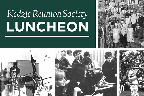 Kedzie Society Reunion Luncheon, October 2018