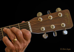 Holding Down a Chord (Chris Scopes) Tags: smileonsaturday holding guitar martin dreadnought music