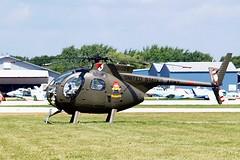 N67PB   (67-16026) Hughes OH-6A Cayuse [0411] Oshkosh-Wittman Regional~N 30/07/2008 (raybarber2) Tags: 0411 16026 airportdata bandits cn0411 flickr helicopter kosh n67pb planebase usacivil warbird