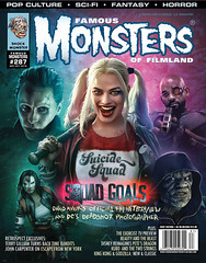 Famous Monsters of Filmland #287 (2016), cover by Brian Taylor (gameraboy) Tags: famousmonsters cover magazine magazinecover famousmonstersoffilmland 287 2016 2010s art illustration briantaylor harleyquinn suicidesquad
