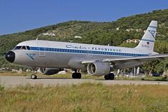 """JSI/LGSK: Condor """"Retro"""" Airbus A320-212 D-AICA (Roland C.) Tags: jsi lgsk condor retro airbus skiathos airport greece aviation airliner daica plane aircraft germany"""