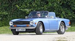 Triumph TR6 (Roger Wasley) Tags: triumph tr6 toddington classic car day gloucestershire cars