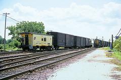 C&NW Caboose 11158 (Chuck Zeiler) Tags: cnw caboose 11158 railroad railway chicago train chuckzeiler chz