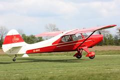 EI-BKC Aeronca 15AC (corkspotter / Paul Daly) Tags: eibkc aeronca 15ac ar15 15ac467 l1p 4ca173 private eibr birr cn467 built 1949