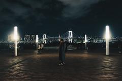 _MG_6785 (waychen_c) Tags: japan tokyo minatoku odaiba rainbowbridge night nightview nightscape cityscape person 日本 東京 港区 台場 お台場 御台場 レインボーブリッジ 彩虹大橋 2017東京旅行