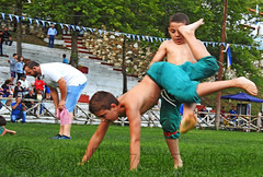 Greece, Central Macedonia, Sochos, 12 Apostles Oil Wrestling Feast (pre-teen boys & girls categories) (Macedonia Travel & News) Tags: northerngreece centralmacedonia greece sochoscommunity 12apostlesoilwrestlingfeast 2018oilwrestlingcompetition wrestlers folkmusicians πανηγυρισoχου2018 σταδιο μενελαοσβασιλικοσ 12αποστολοι αγωνεσπαλησ πεχλιβανησ πεχλιβανηδεσ κιουσπετια drumszurnas drum zurna νταουλιαζουρναδεσ ζουρναστυμπανο macedonia macedonian greek culture vergina sun thessaloniki orthodox hellenic republic prilep tetovo bitola kumanovo veles gostivar strumica stip struga negotino kavadarsi gevgelija skopje debar matka ohrid mavrovo heraclea lyncestis history alexandergreat philipmacedon nato eu fifa uefa un fiba macedoniagreece makedonia macedoniatimeless macédoine mazedonien македонија travel македонски македонци μακεδονια ελλαδα tourisminmacedonia