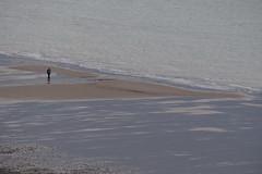Bathing Suit (Tog66) Tags: man suit evening cromer norfolk telephoto tide