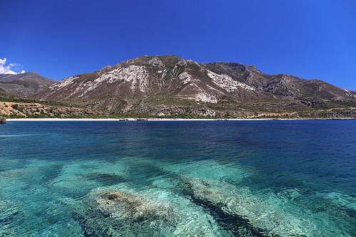 Eaux turquoises de Crète