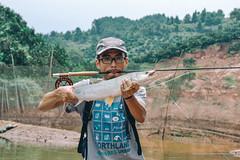 DSC_0238 (photogonia) Tags: ningyu catch caught yellowcheek carp 鳡鱼 fishing flyfishing tip bait cina hunan huaihua simms freshwater xiangxi lake