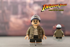Custom LEGO Indiana Jones Temple of Doom: Short Round (Will HR) Tags: