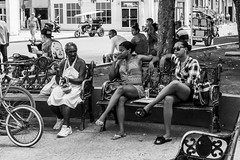 On the bench with Marilyn (Shane Jones) Tags: bench people street moron cuba nikon d500 18200vr