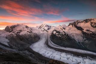 Sunrise from Gornergrat