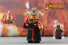 Custom LEGO Indiana Jones Temple of Doom: Mola Ram (Will HR) Tags: indianajones mola ram templeofdoom custom minifigure lego