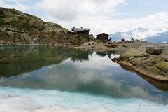 20180717-07-Reflections in Lac Blanc (Roger T Wong) Tags: 2018 alps france lacblanc montblanc rogertwong sel2470z sony2470 sonya7iii sonyalpha7iii sonyfe2470mmf4zaosscarlzeissvariotessart sonyilce7m3 tmb tourdumontblanc bushwalk hike lake mountains outdoors reflection tramp trek walk water