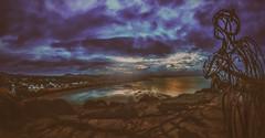 llanbedrog headland (John ME Photography) Tags: tin man llanbedrog abersoch pwllheli northwales wales uk photography nikon seascape landscape blue clouds storm stormy statue elitephotography supershot