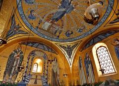 2018 30 juin Mont Sainte-Odile  (Bas-Rhin) chapelle Larmes (areims) Tags: église montsainteodile alsace basrhin vosges ottrot hohenbourg eglise