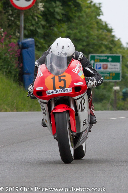 Pre TT Classic Billown 2018 Geoff Duke - Junior Superbik Post  Classic Race