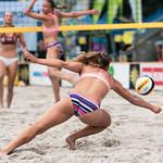 Reaching for beach volley ball 2 thumbnail
