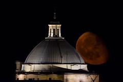 DSC_6334 (Jesus DTT) Tags: luna decreciente torre gorda miguelturra cristo cúpula noche nocturna contemporary sigma150600contemporary nikond7200 superluna moon fullmoon supermoon