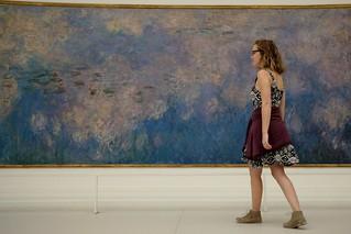 Les Nymphéas - musée de l'Orangerie ( serie walkers )