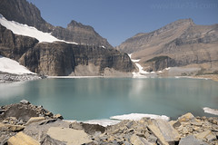 "Upper Grinnell Lake with Salamander Glacier • <a style=""font-size:0.8em;"" href=""http://www.flickr.com/photos/63501323@N07/43934352252/"" target=""_blank"">View on Flickr</a>"