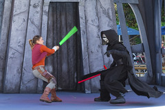 IMGL3398 edited-1 (John Beddome) Tags: disneyland disney darth vader california tomorrowland terrace star wars anaheim kylo ren