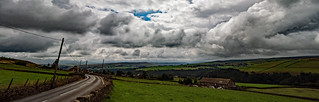 Storm clouds over Calderdale