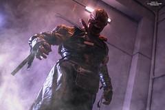 NEMESIS_DSC0552,4RE2 (Yohann Franco) Tags: nemesis residentevil videogame capcom monster stars cosplay horror smoke light dark