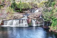 3090-92 (taszee63) Tags: tasmania cradlemountain hdr 3xp waterfall water river