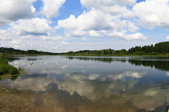The lake near Izborsk fortress | Городищенское озеро (alutik) Tags: nature seasonal bright colors landscape scenary izborsk изборск россия russia summer view canon 70d zenitar16mmf28fisheye mczenitarc2816